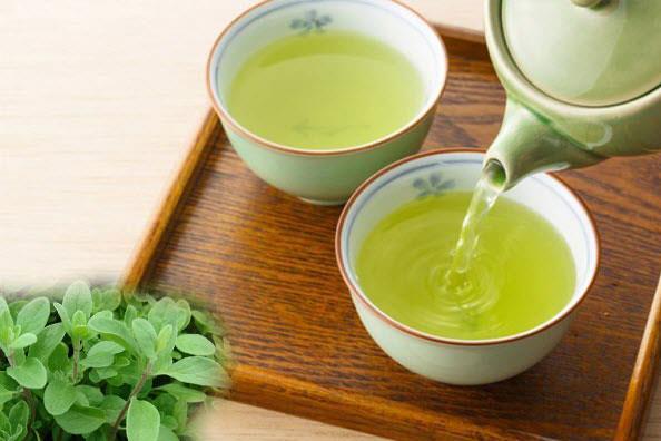 اثرات جالب چای یونجه از جنس سماور ذغالی برنجی